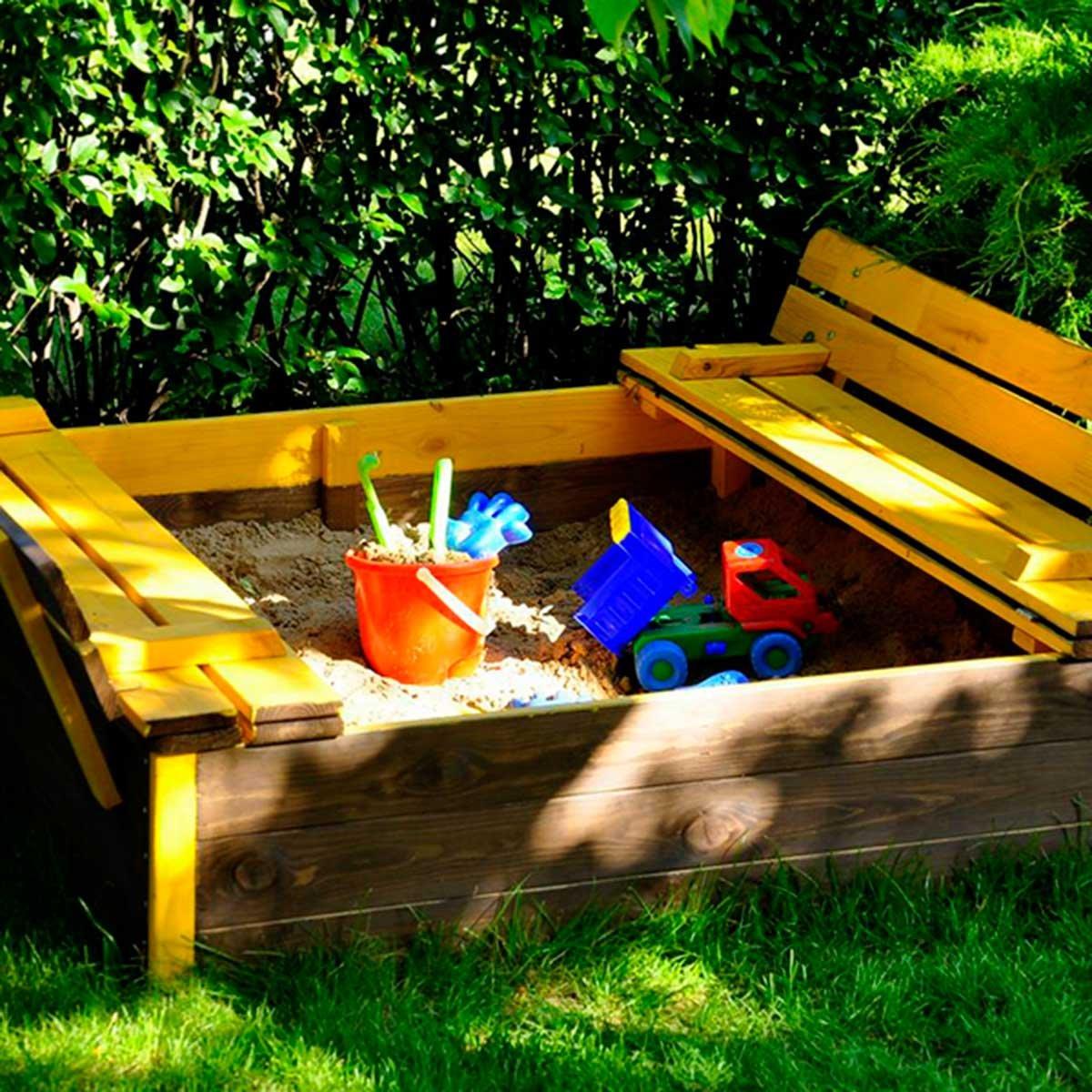 KT12812 Outdoor Toys Arenero de madera infantil