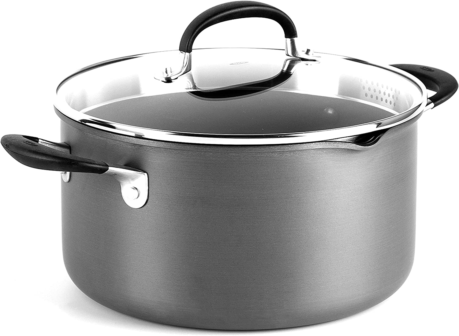 OXO Good Grips 6QT, Stockpot Black
