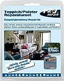 123Repair réparation tapis revêtement sièges tapisserie multicolores, 13 pièces