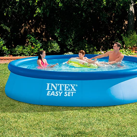 Intex Easy Set Swimming Pool No Pump 396cm X 84cm X 74cm: Amazon.de: Garten