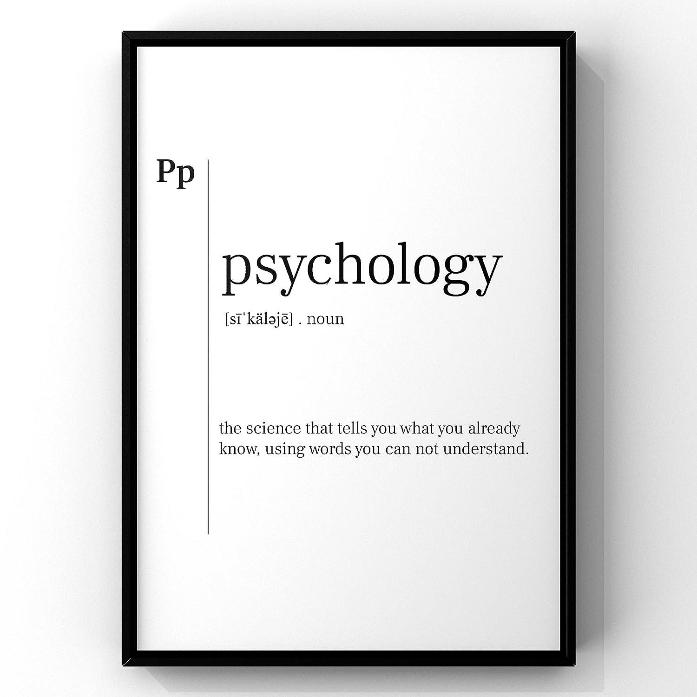 Amazon Com Psychology Definition Print Psychology Psychology Print Psychology Poster Psychology Gift Psychologist Office Decor Psychology Art Quote Art Handmade