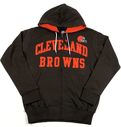 lowest price 10929 a246d G-III Sports Cleveland Browns Men's Long Sleeve Pass Attempt Hoodie/Hooded  Sweatshirt