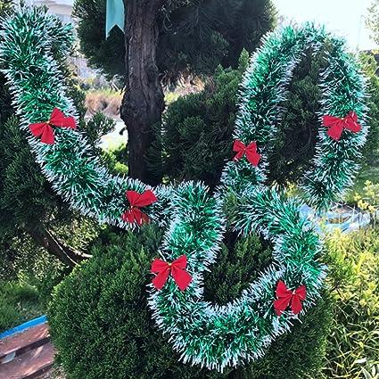 Amazon Com Pop 2m Christmas Decoration Bar Tops Ribbon Garland