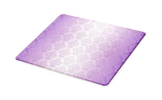 Amazon.com: Lunarable Purple Cutting Board, Ombre Vector ...
