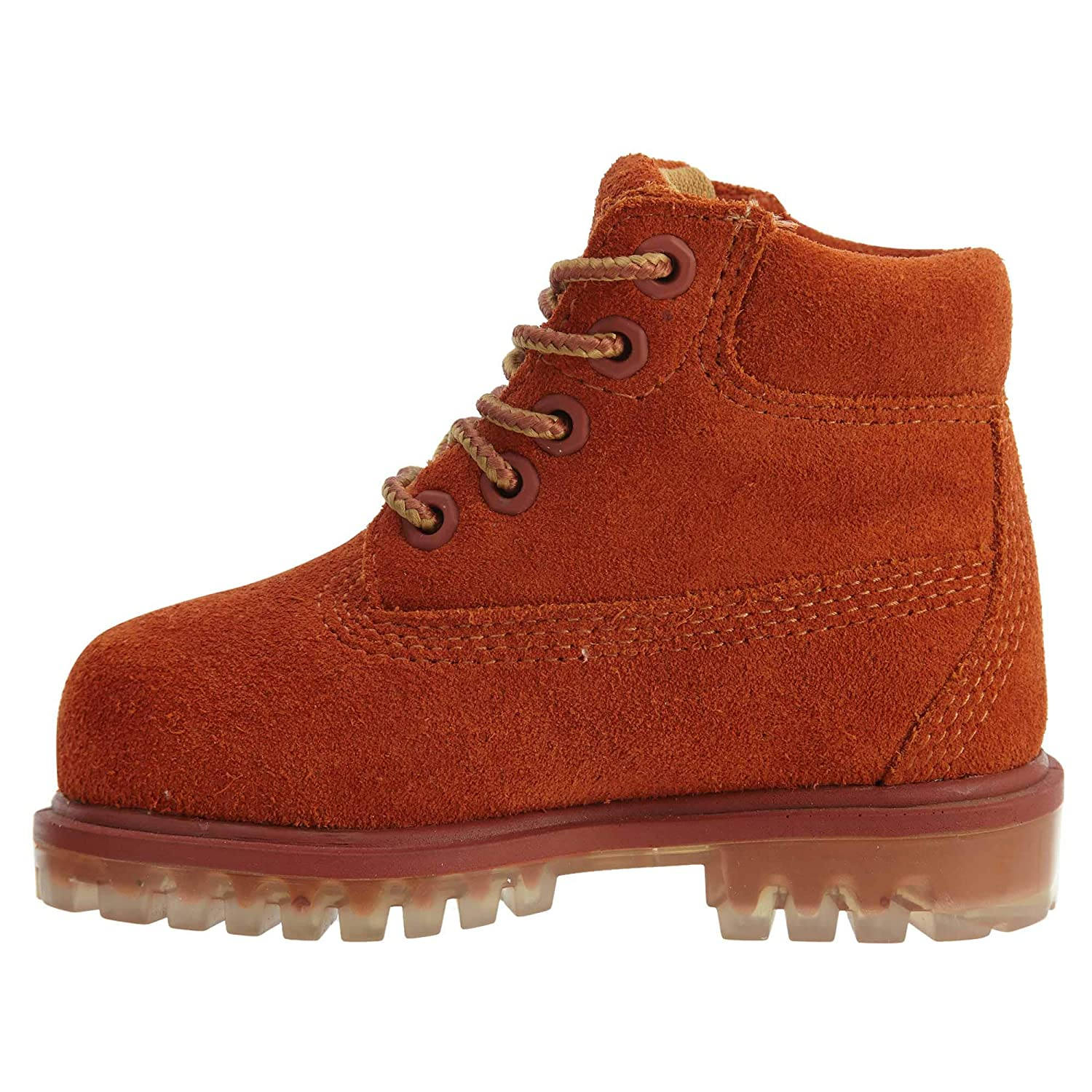 328b45abd738f Amazon.com   Timberland 6 inch TPU Outsole Water Proof Suede Premium  Toddler's Boots Rust tb0a1blq   Boots