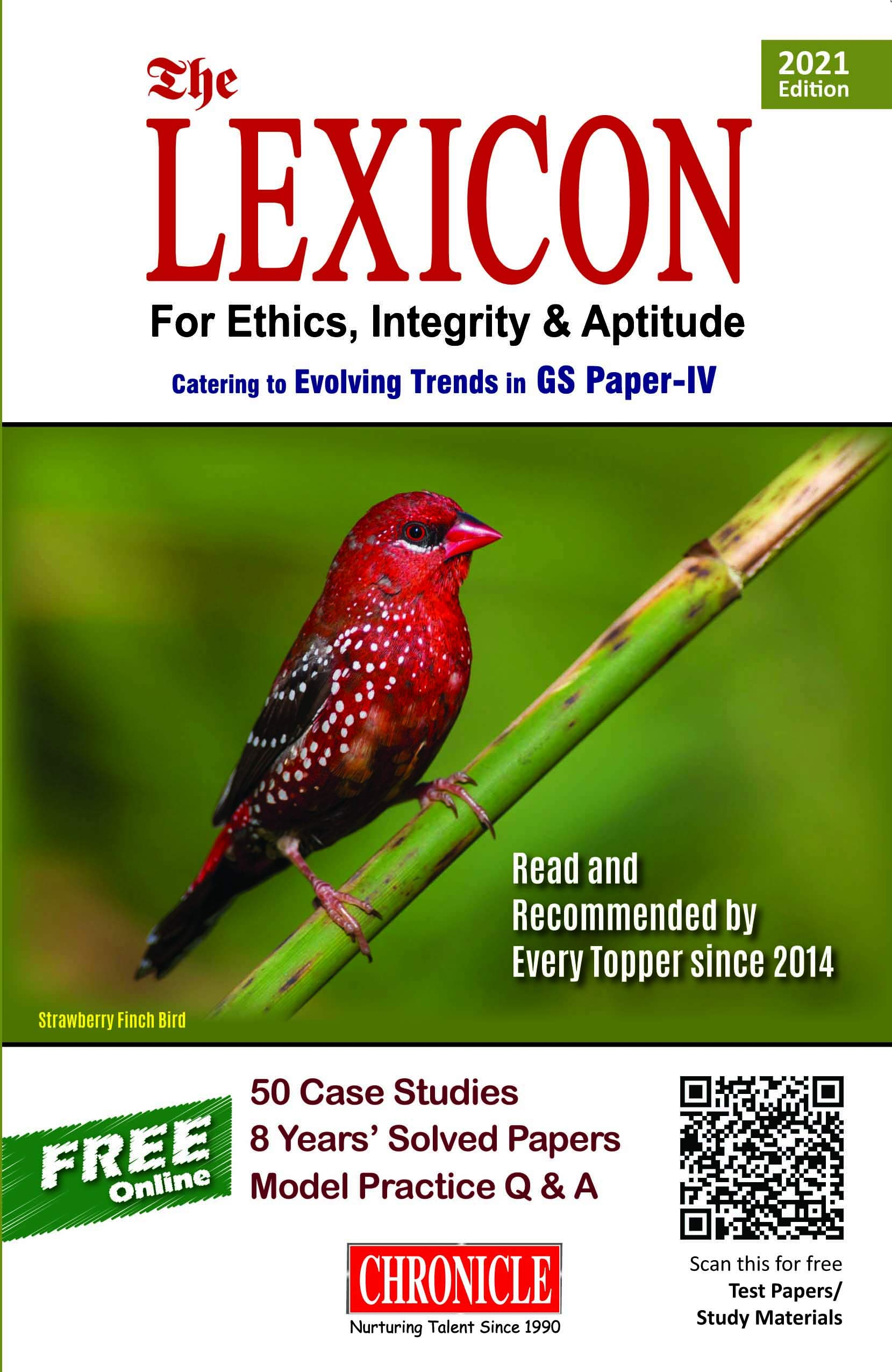 Lexicon for Ethics, Integrity & Aptitude for IAS General Studies – 7/edition, 2021