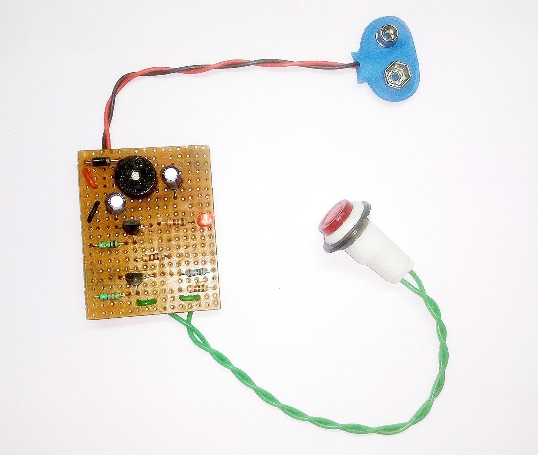 Pke Laser Alarm Circuit Ldr Based Security System Rain Water Electronics