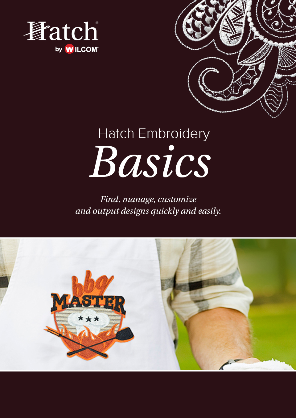 Hatch Embroidery Basics [Download] by Wilcom