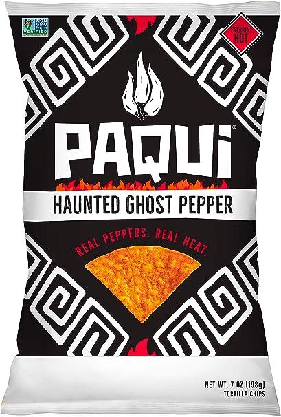 Paqui - Tortilla Chips Haunted Ghost Pepper - 7 oz.: Amazon.es: Salud y cuidado personal