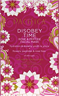product image for Pacifica Disobey Time Rose & Peptide Facial Mask, 1Count