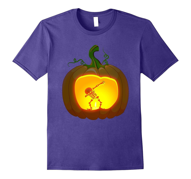 Dabbing Skeleton halloween shirt-TJ