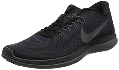 0ec6aef1126f8 NIKE 898457-005 Men Flex 2017 RN Black MTLC Hematite Anthracite