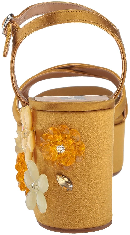 Marc Jacobs Women's Callie 37.5 Embellished Wedge Sandal B075Y6M2JR 37.5 Callie M EU (7.5 US)|Gold bf36ac