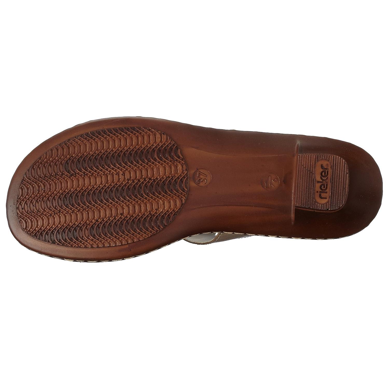 hot sale online addf8 d9f52 Schuhe Rieker Regina 61853-62 Clogs & Pantoletten Damen ...