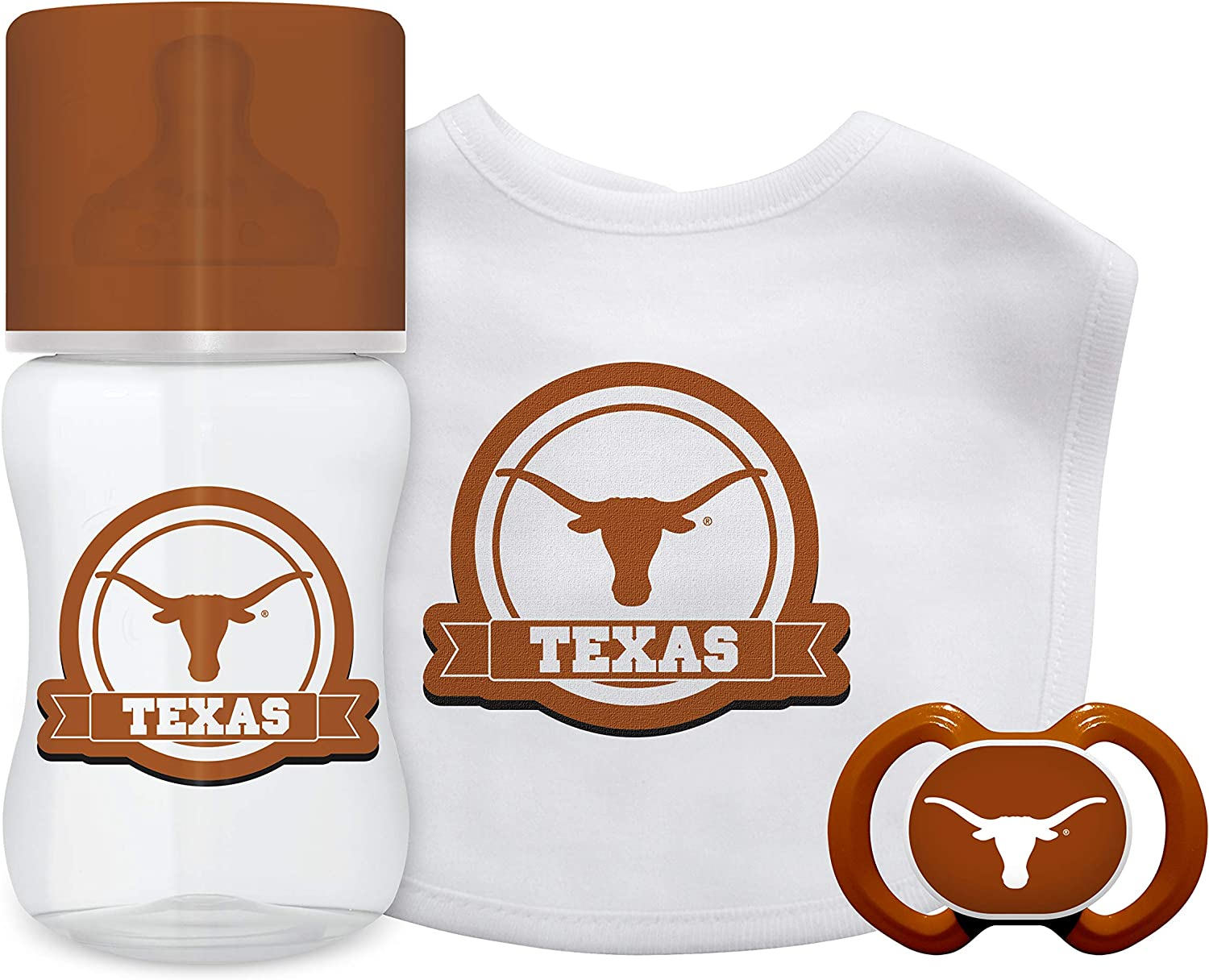 Baby Fanatic NCAA Texas Longhorns Infant and Toddler Sports Fan Apparel