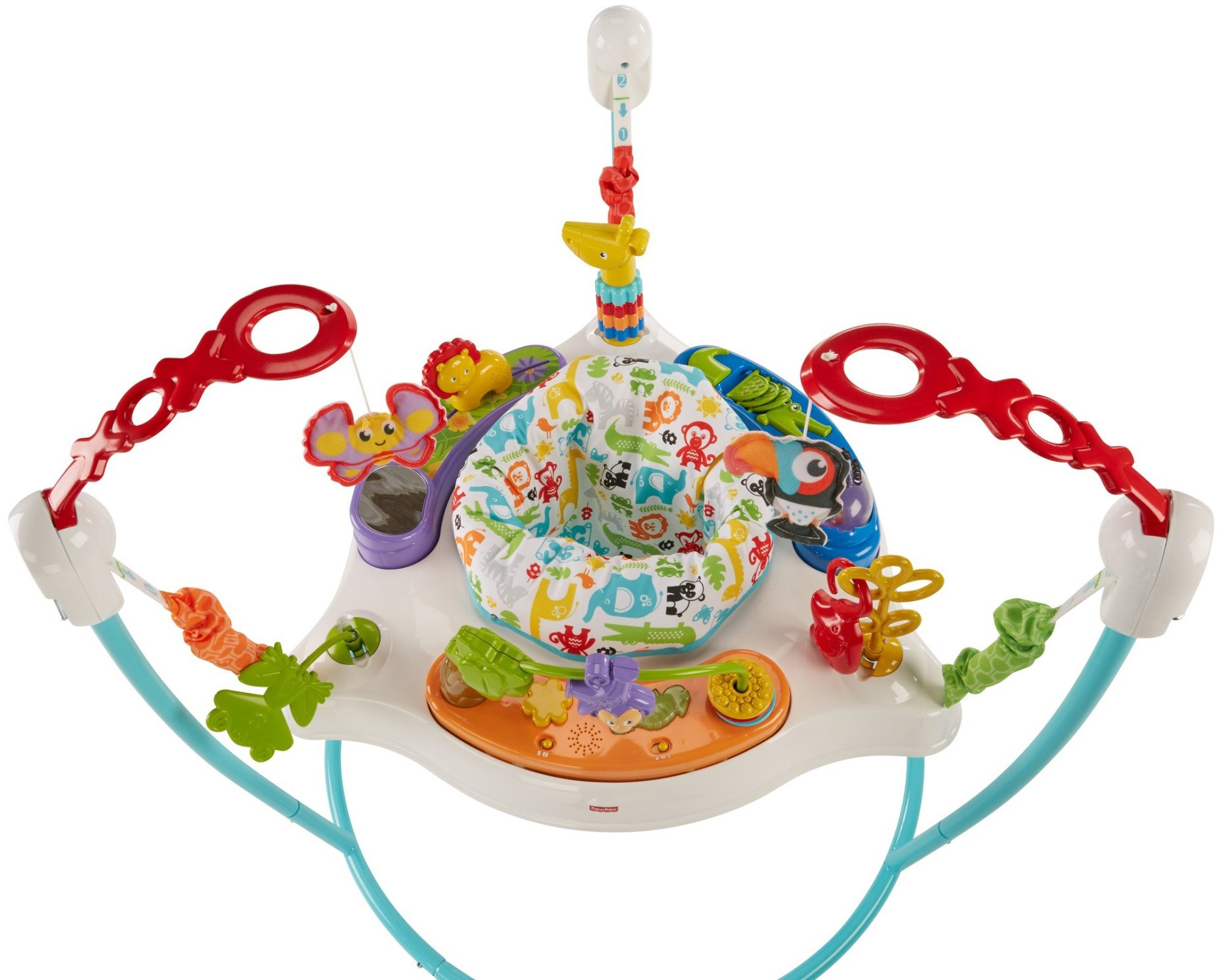 Fisher-Price Animal Activity Jumperoo, Blue by Fisher-Price (Image #6)