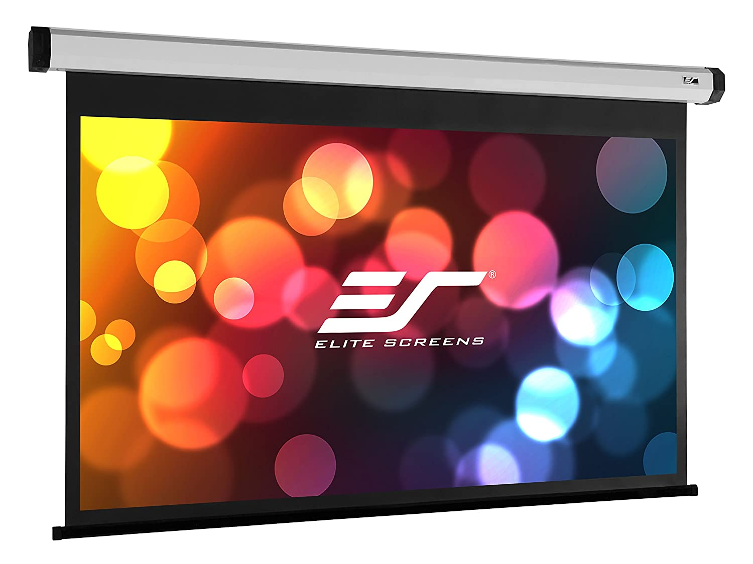 """Amazon.com: Elite Screens Home2 Series, 90"""" Diagonal 4:3, 4K/8K Ultra HD  Electric Drop Down Front Projector Screen, HOME90IWV2: Home Audio & Theater"""
