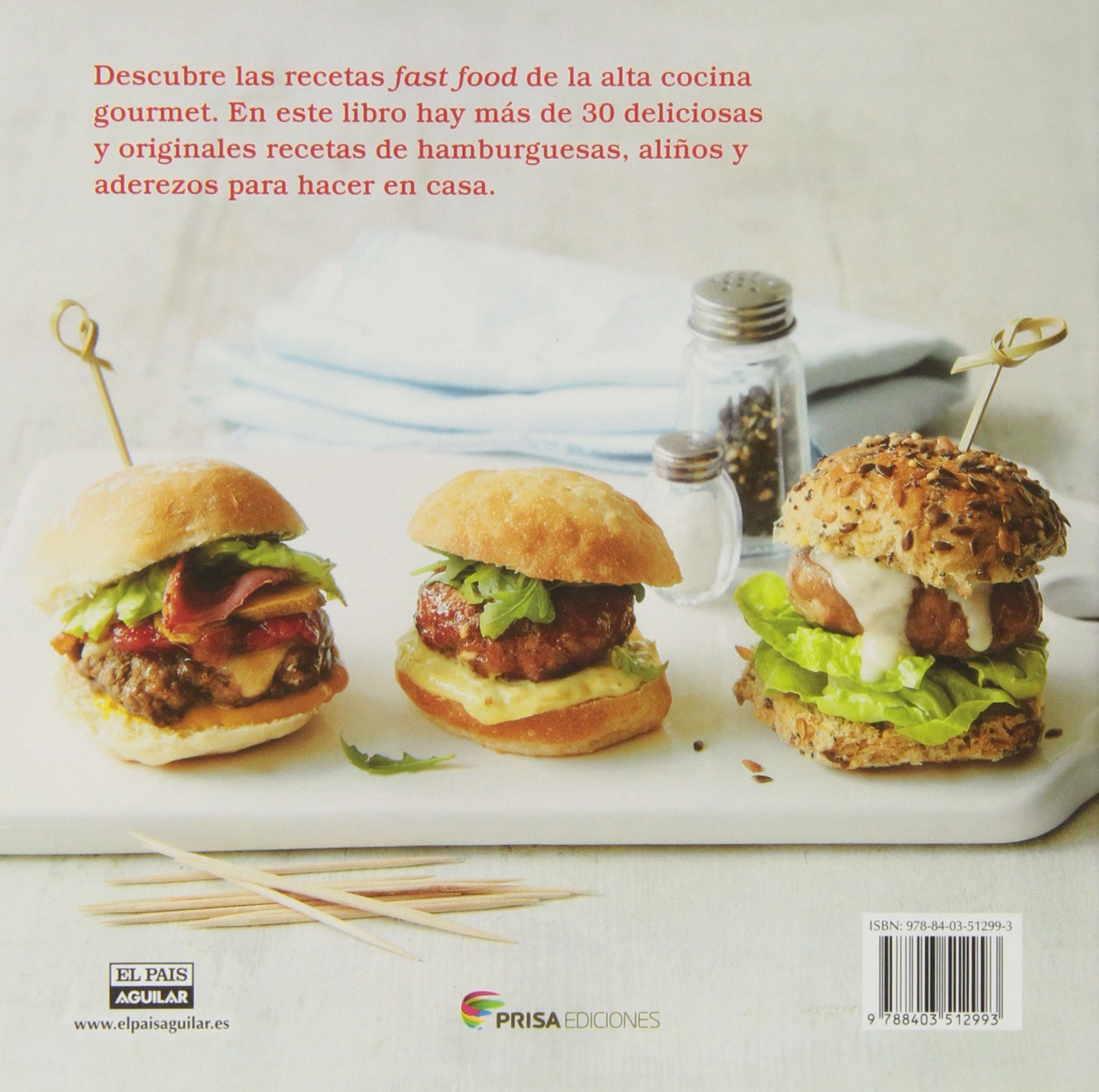 Hamburguesas / Burgers and Sliders (Chic & Delicious) (Spanish Edition): Miranda Ballard: 9788403512993: Amazon.com: Books