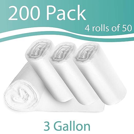 Amazon.com: Bolsa de basura de 3 galones, pequeña ...