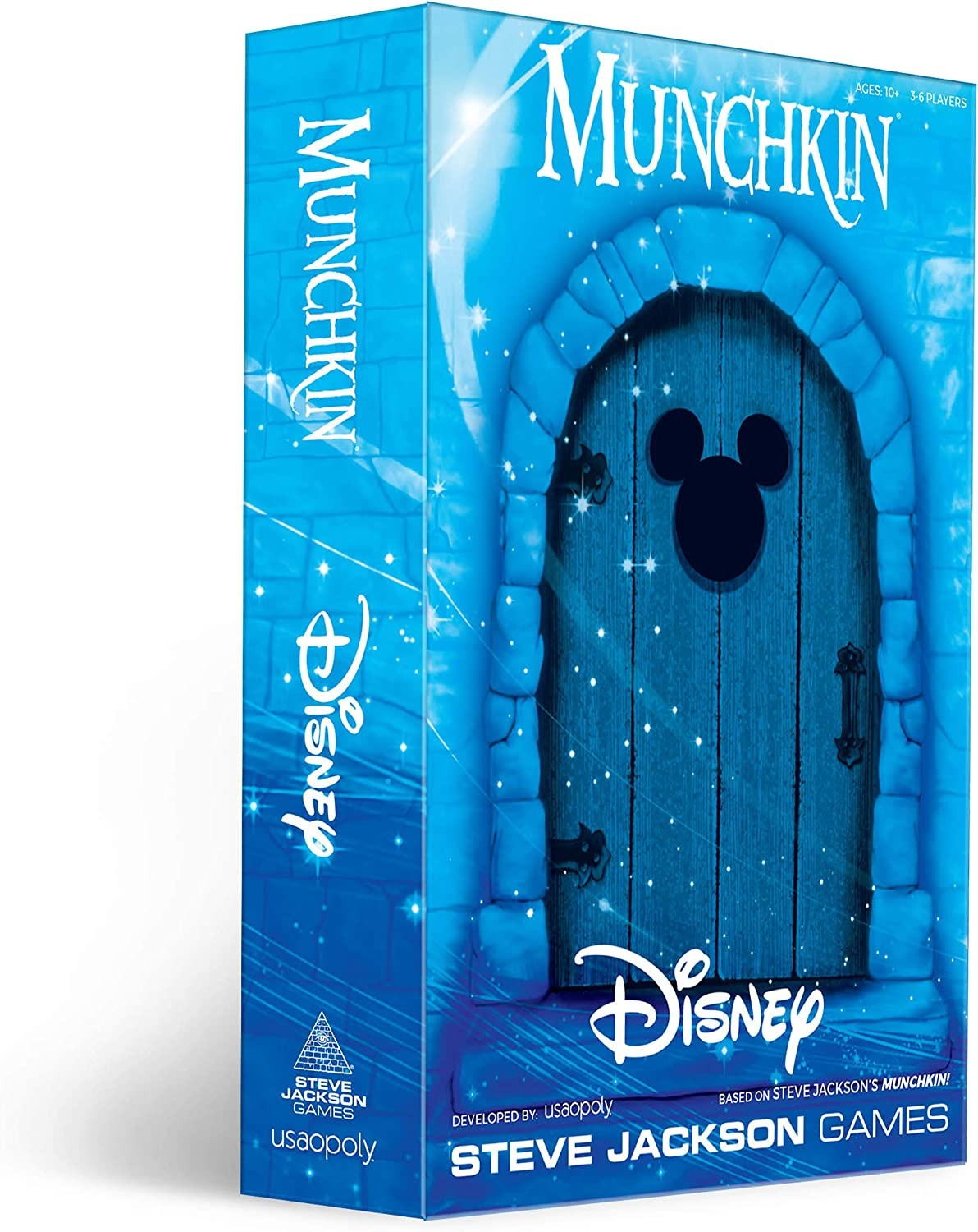 Munchkin: Disney Card Game | Munchkin Game Featuring Disney Characters and Villains | Officially Licensed Disney Card Game | Tabletop Games & Board Games for Disney Fans