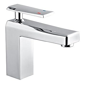 Waschtischarmatur Eckig Waschbeckenarmatur Wasserhahn Design Bad
