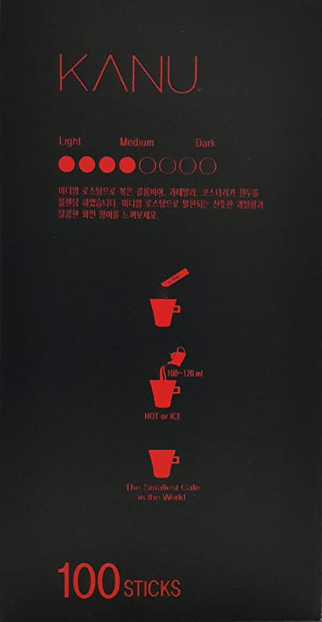 Maxim Kanu Mini café americano instantáneo tostado medio 0.9 ...