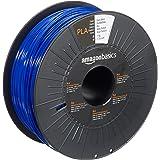 AmazonBasics PLA 3D Printer Filament, 1.75mm, Dark Blue, 1 kg Spool