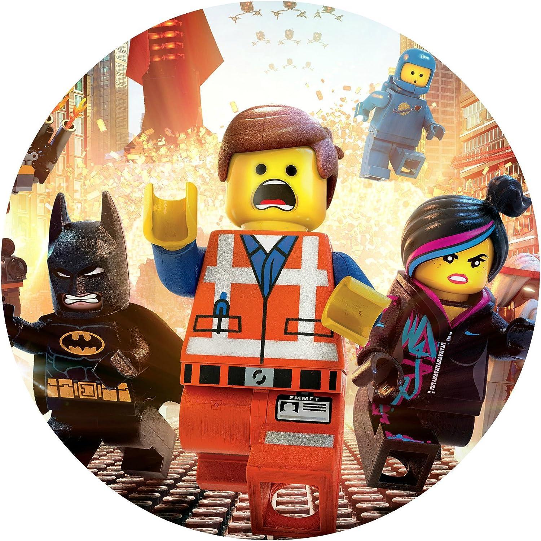 Surprising Amazon Com Lego Movie Image Photo Cake Topper Sheet Birthday Funny Birthday Cards Online Alyptdamsfinfo