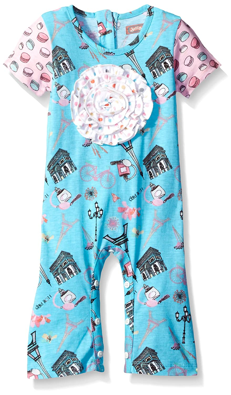 ff2229abaff6 Amazon.com  Jelly the Pug Baby Girls  Anna Romper  Clothing