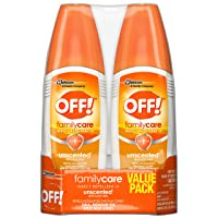 OFF! Family Care Insect & Mosquito Repellent, Unscented with Aloe-Vera, 7% Deet...