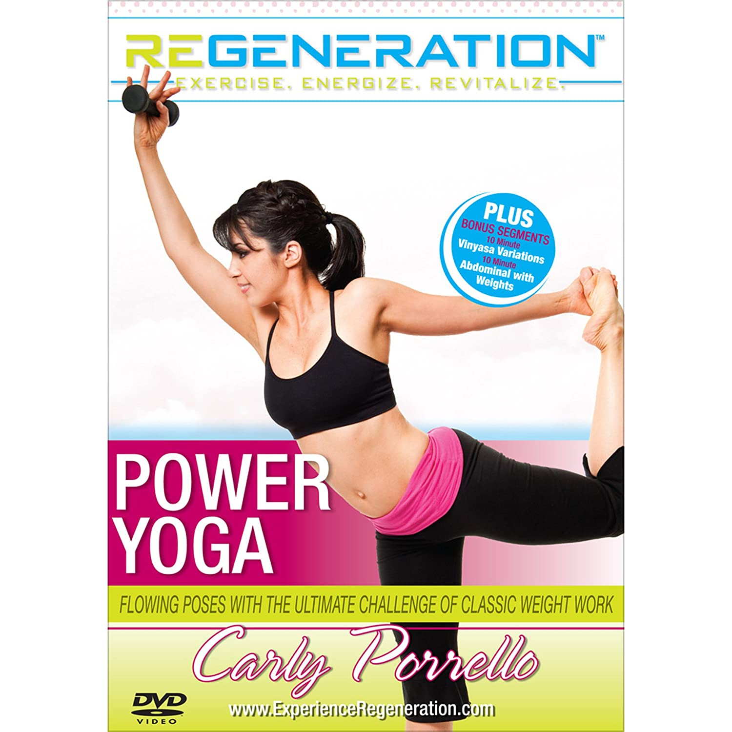 Amazon.com: Carly Porrellos Regeneration: Power Yoga: Carly ...