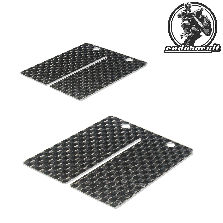 RD 250//350//400 endurocult 2x Carbon Membran kompatibel mit Yamaha DT 100//125//175 TY 250