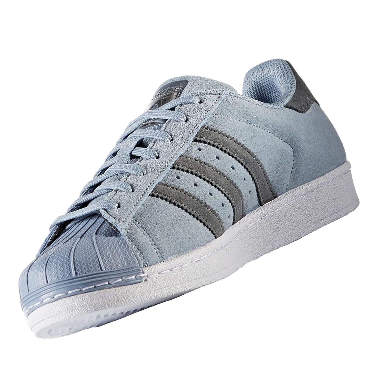 Bleu (Azutac   Onix   Onix) 38 2 3 EU adidas Superstar, Basket Mode Homme