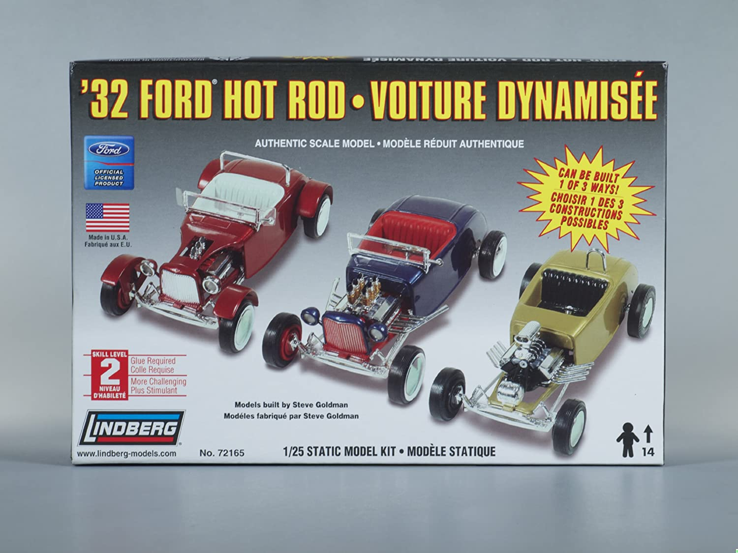 Amazon.com: Lindberg 32 Ford Hot Rod: Toys & Games