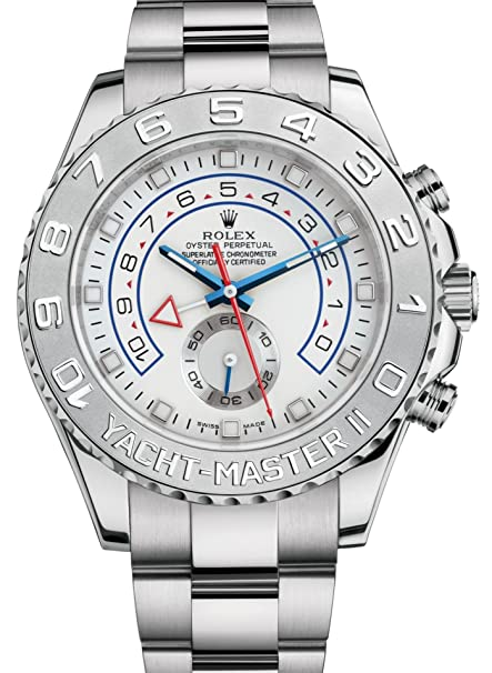 Amazon.com  Rolex Yacht,Master II White Gold Watch 116689