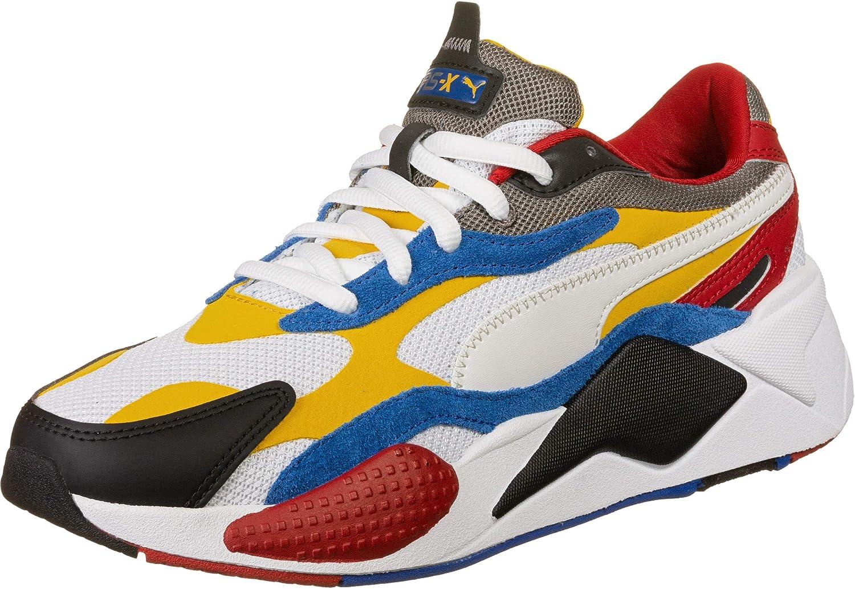 PUMA Men's Shoes White Yellow Rs-X3