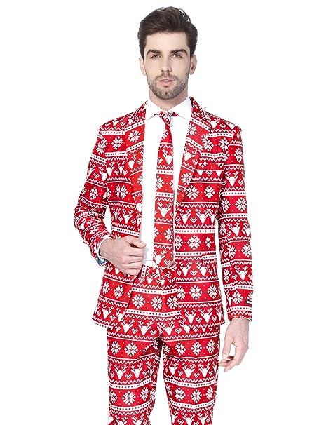 Suitmeister Trajes de Navidad - Incluyen Chaqueta 840710dcc651