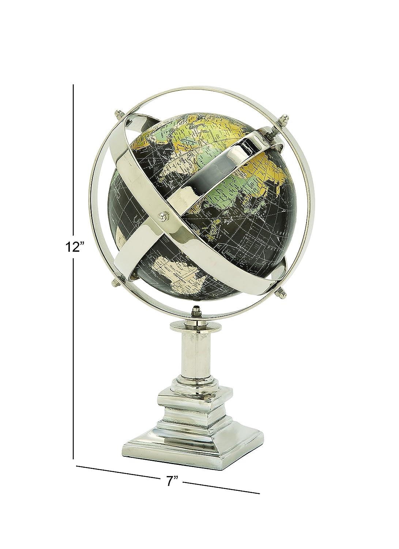 7 x 12 7 x 12 UMA Enterprises Deco 79 42460 Aluminum Globe