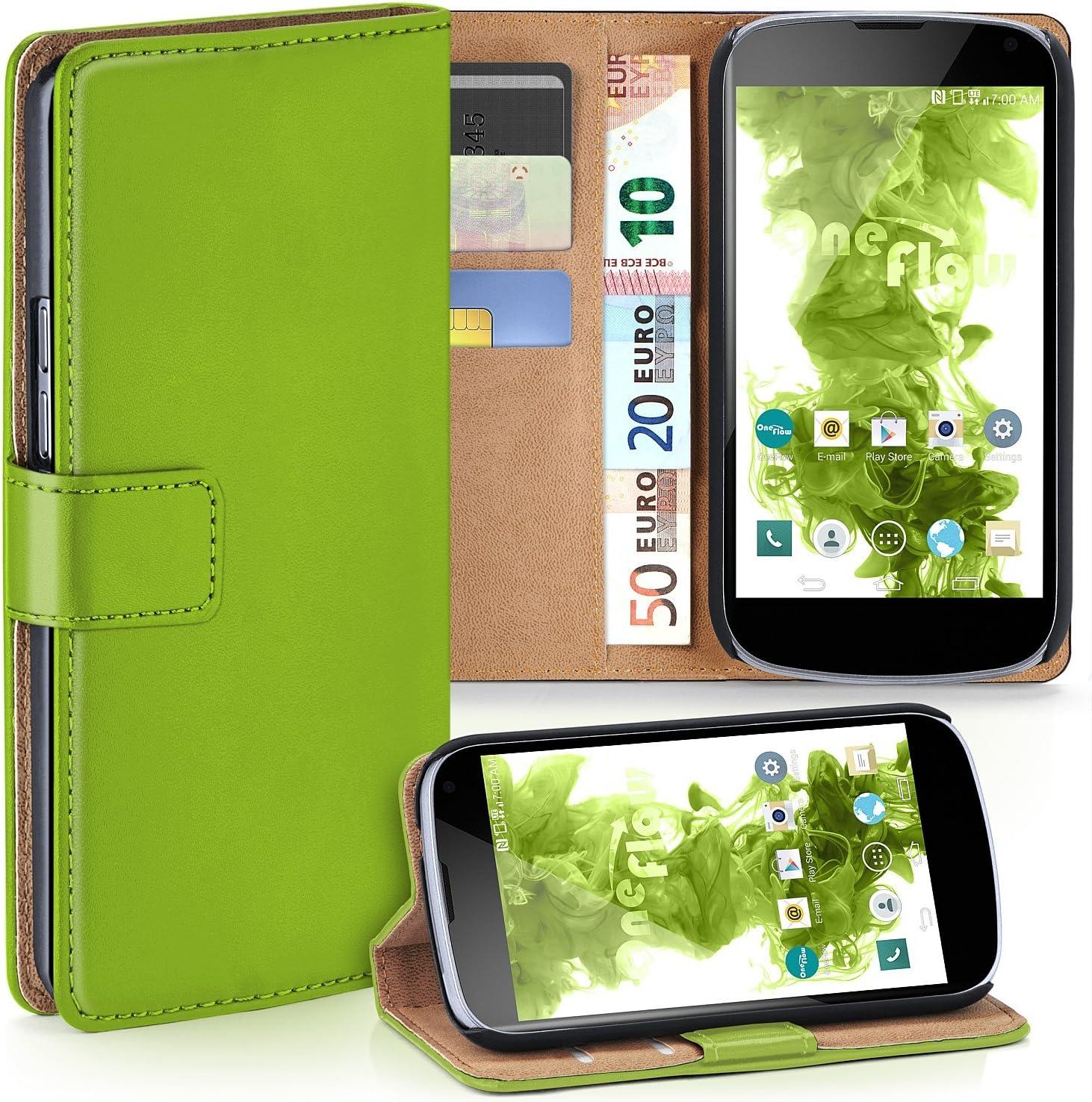MoEx® Funda Cartera [protección 360°] Compatible con LG Google ...