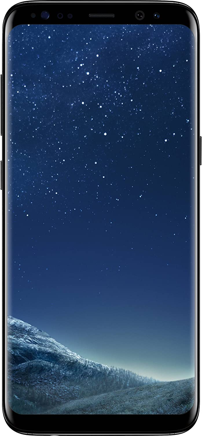 Samsung Galaxy S8 - Unlocked- Midnight Black (Renewed)