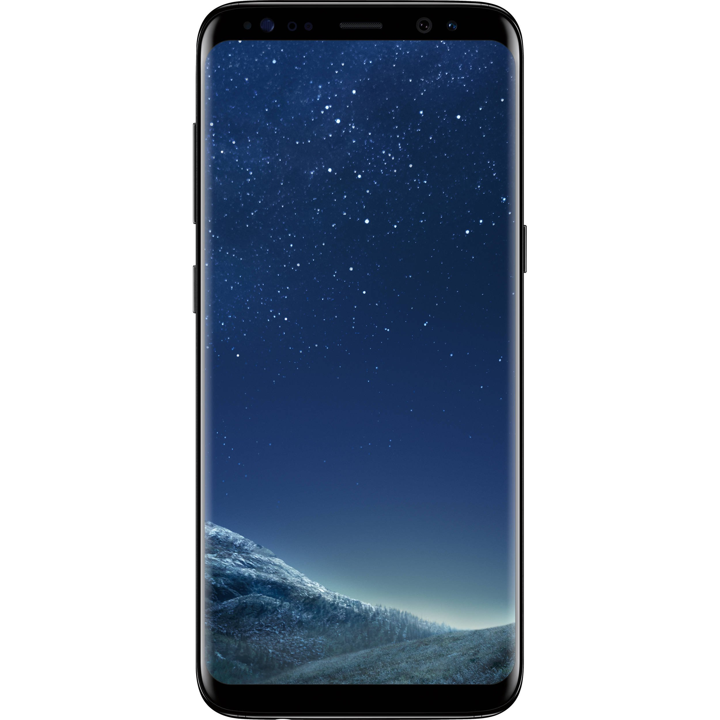Samsung Galaxy S8 - Unlocked  - Midnight Black (Renewed) by Samsung
