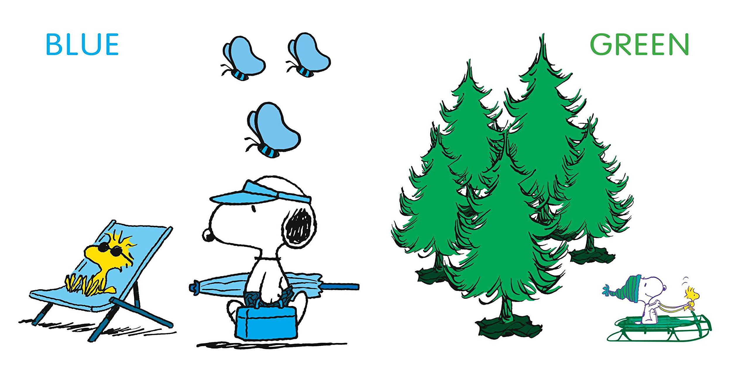 Amazon.com: Snoopy\'s Book of Colors (0050837349094): Charles M ...