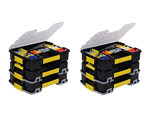 Stanley STST14021 Sort Master Light Organizer Tools Parts Electrical 6 Pack
