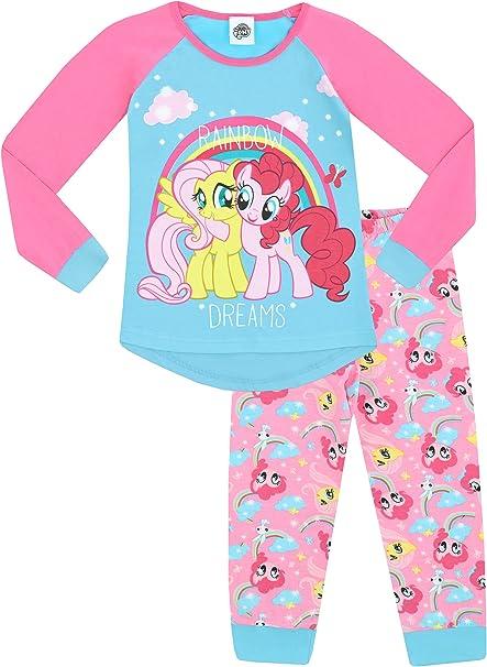 da 3 a 8 anni Pigiama corto da bambina My Little Pony colore: Rosa