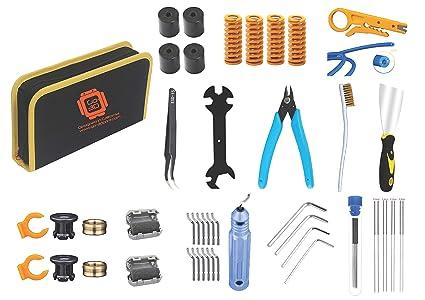 GO-3D PRINT 48 piezas impresión 3D todo lo que necesita kit de ...