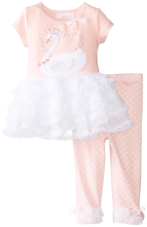 Traumhaftes Tutu-Kleid + Legging von Bonnie Jean Gr. 80,86,92
