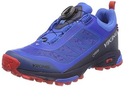 Viking Unisex-Erwachsene Anaconda Light Boa GTX Trekking-& Wanderhalbschuhe, Blau (Mid Blue 49), 46 EU