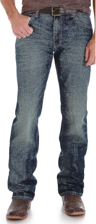 Wrangler Mens Retro Slim Fit Boot Cut Jean