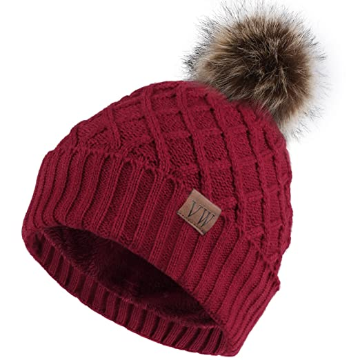 Burgundy Beanie Hat Pretty Little Thing VLwTn09F