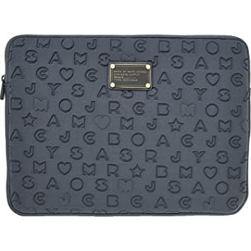 buy online 7297d e6fce Marc by Marc Jacobs MacBook Air 33 cm et Gris en néoprène en Relief ...